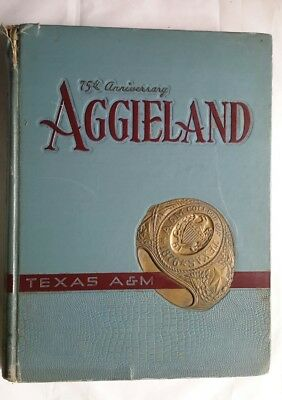 1951 Texas A&M YEARBOOK The Aggieland College Station Texas Aggies