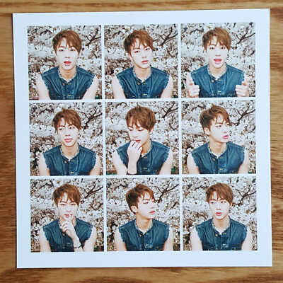 Jin Official Photocard BTS The Most Beautiful Moment in Life Part 1 Kpop Genuine