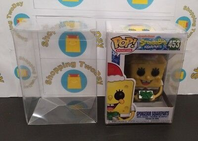 """4 Funko Pop Protectors .50Mm Thick Heavy Duty For Standard 4"""" Pops Perfect Fit"""