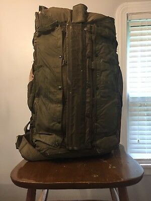 US Military 28 FT Back Pack Parachute Dated 1952