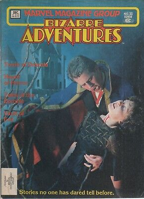 Bizarre Aventures Marvel Magazine Group # 3: Tomb of Dracula!!