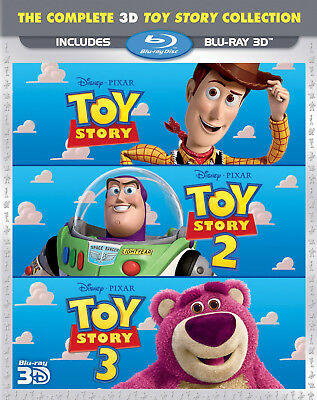 Toy Story - The Complete 3D Collection [3D Blu-ray] Excellent Condition!!!