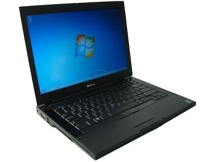 "DELL Latitude E6410 14"" Notebook 160GB HDD 4GB DVD-CDRW (Grade B) Windows 7 Pro"