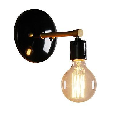 Permo Industrial Scandinavian Mini Single Sconce Antique Finished 1-Light Wall S
