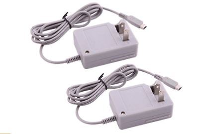 2 pieces Travel AC Adapter Home Wall Charger for Nintendo NDSi XL / LL 3DS 3DSXL