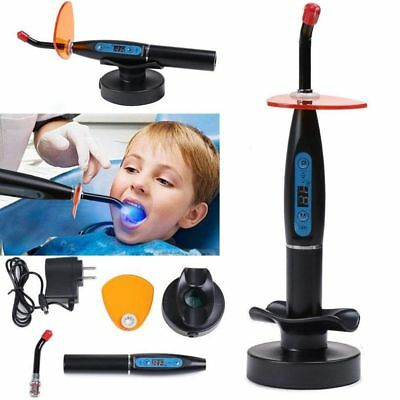 5W 1500MW Dentist Dental LED Curing Light Lamp Wireless Cordless Resin Cure NEW