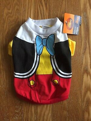 Disney Pinocchio Halloween Dog Costume Medium Size, with Tags.  Awesome!
