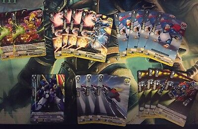 Cardfight Vanguard V - Dimension Police Deck + Force Markers - Ready to play!