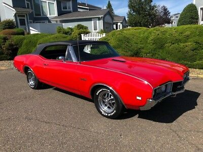442 -- 1968 Olds 442 Convertible 400Ci Protecto Plate Only 148 Made