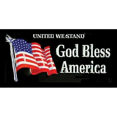 "Flags R7274 Patriotic 3"" x 5"" United We Stand God Bless America Flag"