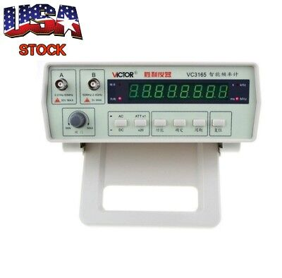 VC3165 Radio Precision Frequency Counter Measures RF Meter Professional Tester
