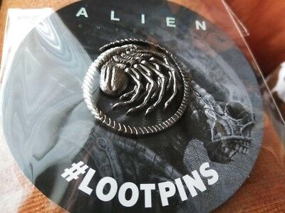 Exclusive Loot Crate Alien Facehugger Collectible Pin, BRAND NEW!