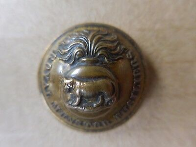British Military Uniform Button Royal Munster Fusiliers Jennens & Co London