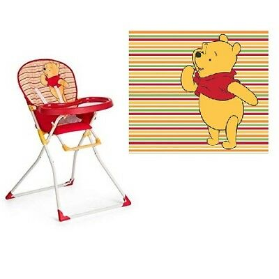 Hauck Mac Baby Highchair Pooh Spring Brights Red NEW