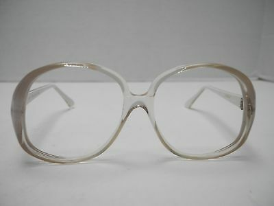 VINTAGE NEW OLD Stock Woman\'s Valdottica White Clear Plastic ...