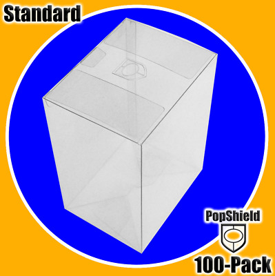 Funko Pop! PopShield Protectors 100-Count (FREE SHIPPING IN U.S.) .45mm thick &