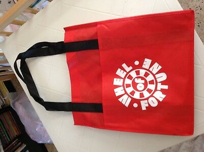 WHEEL OF FORTUNE USA - MAXI SHOPPING TOTE BAG 33 X 36 cms (sans anses)