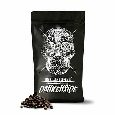 Killer Coffee Darkerside Blend - Deadly Strong Coffee, Beans/Ground/Nespresso