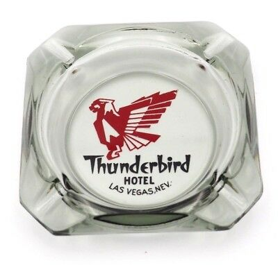 Old Vintage Collector Thunderbird Hotel Casino Las Vegas NV Advertising Ashtray