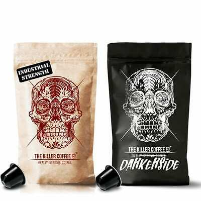 Killer Challenge Capsule Pack - Two Blends Strong Nespresso Coffee Capsules