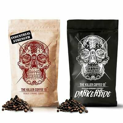 Killer Coffee™ Challenge Pack - Two Blends Strong Coffee