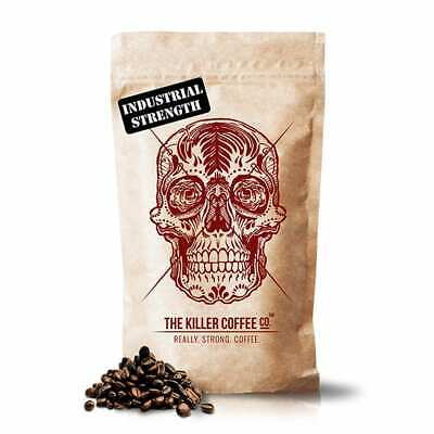 Killer Coffee - Industrial Strength Coffee Blend, Beans or Ground