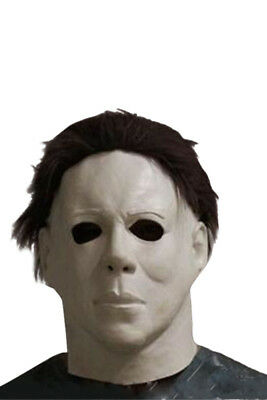 Michael Myers Halloween Cosplay Adult Latex Party Full Face Mask Scary Film