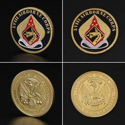 New Commemorative Coin United States Army Airborne Corps Collection Souvenir Art