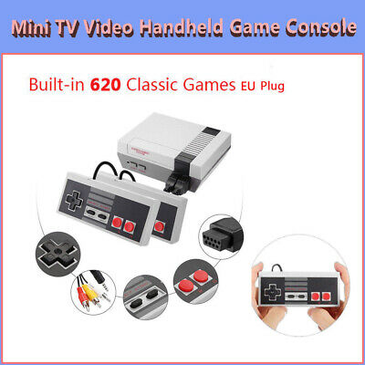 Mini Retro TV Video Handheld Game Console Built-in Classic 620 Games for NES