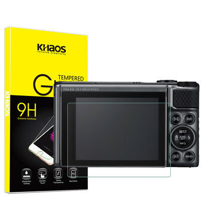 Khaos For Canon SX730HS  Tempered Glass Screen Protector