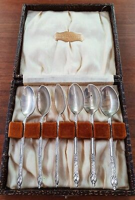 Apostle spoons epns x 6 boxed set