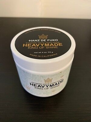 Hanz De Fuko HeavyMade Pomade 4oz - LARGE LIMITED EDITION