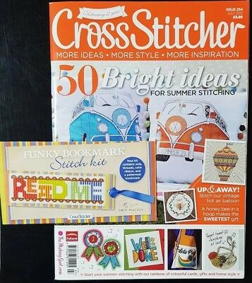 Cross Stitcher Issue 254 With Free Gift
