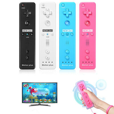 Wiimote Built in Motion Plus Inside Remote Gesture Controller For Wii & Wii U