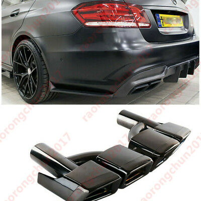 Rear Exhaust Tips Muffler Pipes For Mercedes Benz W212 W204 W216 W218 W219 W207
