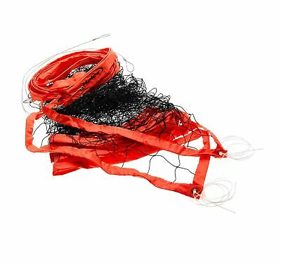 Halex Volleyball Net - Official Heavy Duty Cable (Orange)