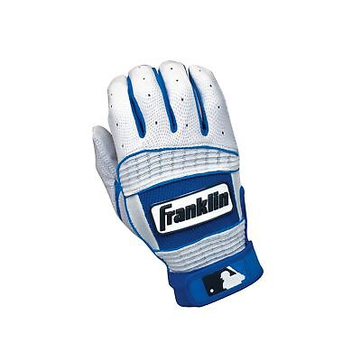 Franklin Sports Neo Classic Series Batting Gloves Pearl/Royal XX-Large