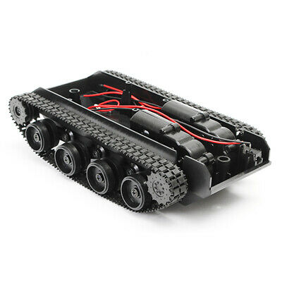 [NEW] 3V-7V DIY Light Shock Absorbed Smart Tank Robot Chassis Car Kit With 130 M