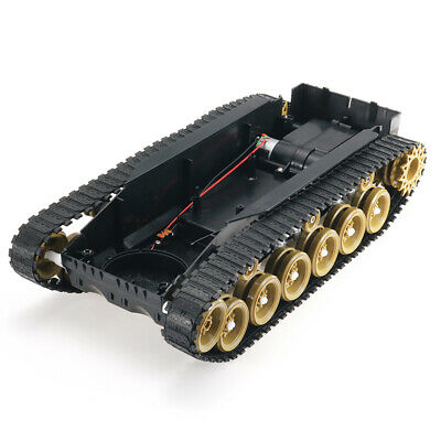 [NEW] 3V-9V DIY Shock Absorbed Smart Robot Tank Chassis Crawler Car Kit With 260
