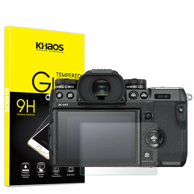 Khaos For Fujifilm X-H1  Tempered Glass Screen Protector
