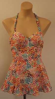 SMALL,ORIGINAL VINTAGE 1960s / 70s WOMENS BATHERS.