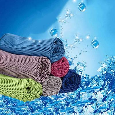 Ice Towel Utility Instant Cooling Towel Heat Relief Reusable Chill Cool Towel