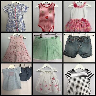 Girl's Size 1 Lot Young Hearts Cotton On Kids Dymples Tine Little Wonders #G141