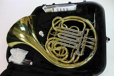 Jupiter JHR1100 Intermediate Double French Horn in Lacquered Brass GORGEOUS