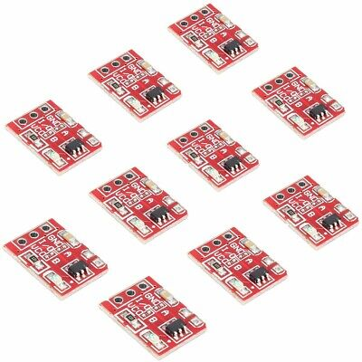 [NEW] 10Pcs 2.5-5.5V TTP223 Capacitive Touch Switch Button Self Lock Module For