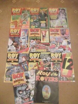 12 x ROY OF THE ROVERS from 1993 - Complete Year