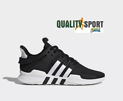 cheap for discount 20d42 d16ab Adidas EQT Support ADV Nero Scarpe Shoes Uomo Sportive Sneakers B37351