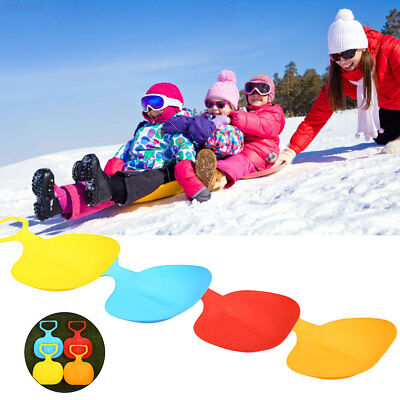 C494 Outdoor Sports Thickened Plastic Snow Sand Skiing Pad Portable Snowboard