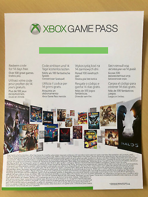 Xbox Game Pass 14 Day - DLC - Code will be emailed