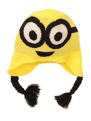 2aa81629af4 LICENSED MINIONS WINTER Tasseled Beanie Hat Age 4-8 Years - £2.99 ...